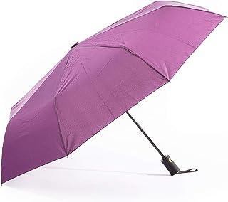 Paraguas Plegable y Resistente al Viento, Paraguas con Apertura y Cierre Automático, Paraguas con Varillas Reforzadas y Ma...
