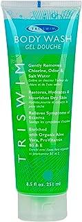 TRISWIM Chlorine Removal Swimmers Body Wash Moisturizing Repairing Skin