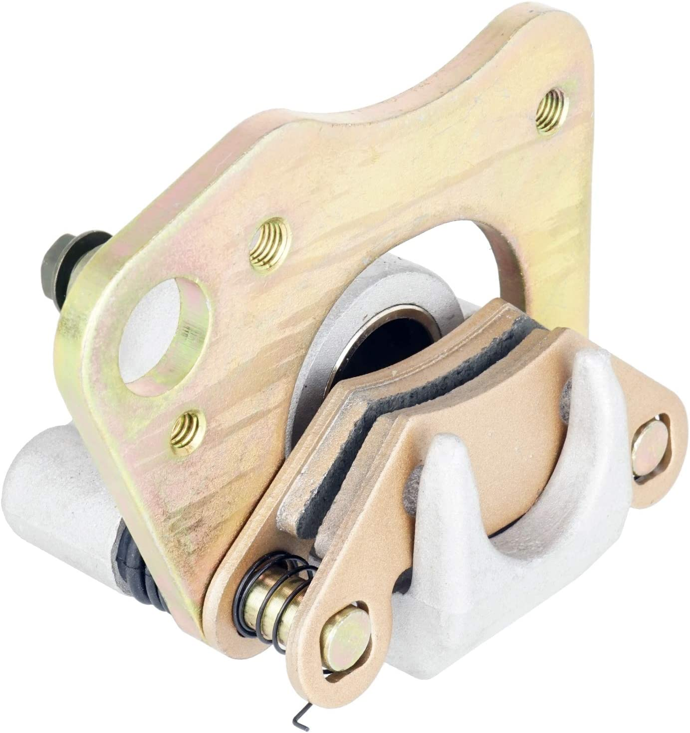 Caltric Front Left Brake Caliper W with Max 87% OFF Over item handling Compatible Polaris Pads