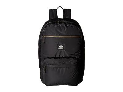 adidas Originals Originals National Plus Backpack (Black 1) Backpack Bags
