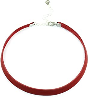 Kristin Perry Leather Choker Necklace