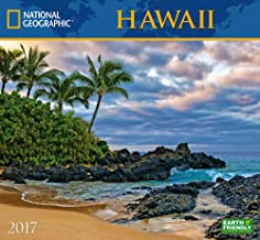 National Geographic Hawaii 2017 Wall Calendar
