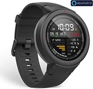 Amazfit Verge Smartwatch with Alexa Built-in, GPS Plus GLONASS All-Day Heart Rate and..