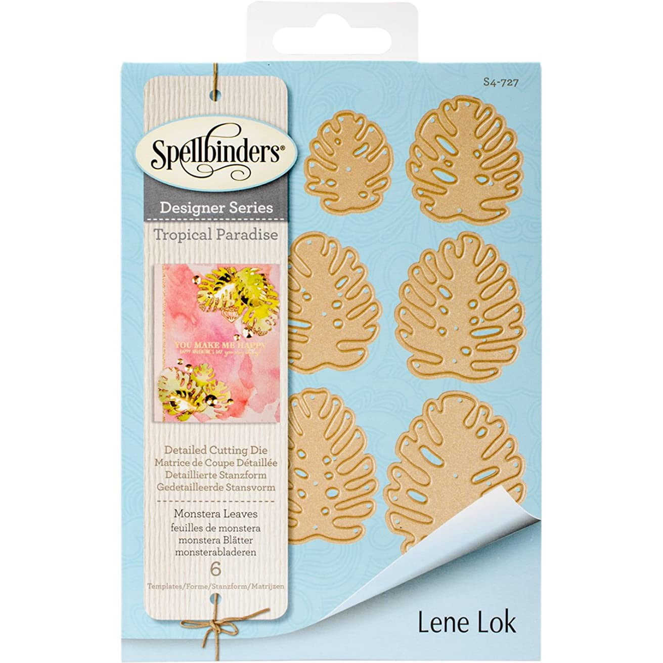 Spellbinders Shapeabilities Monstera Leaves Etched/Wafer Thin Dies