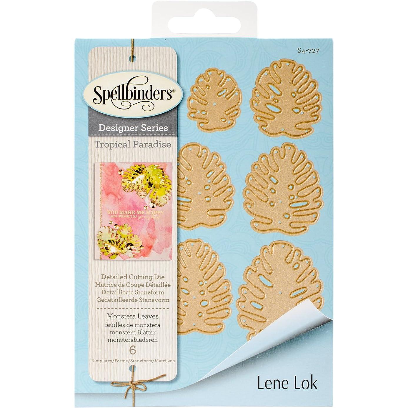 Spellbinders Shapeabilities Monstera Leaves Etched/Wafer Thin Dies