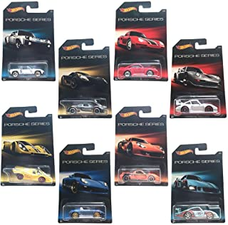 Hot Wheels Porsche Series Exclusive 8 Car Set