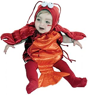 Baby Lobster Costume - Size 6-18 Months Red