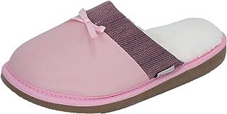 STAHL | Pantuflas para Mujer | Piel | Espuma de Memoria, Suela Antiderrapante y Regulador de Temperatura | Modelo-3808