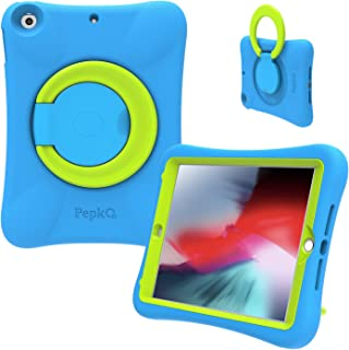 PEPKOO iPad 9.7 2017/2018 Case for Kids - Lightweight Shockproof Handle Stand Rugged Cover for Apple iPad 6th Generation/5...