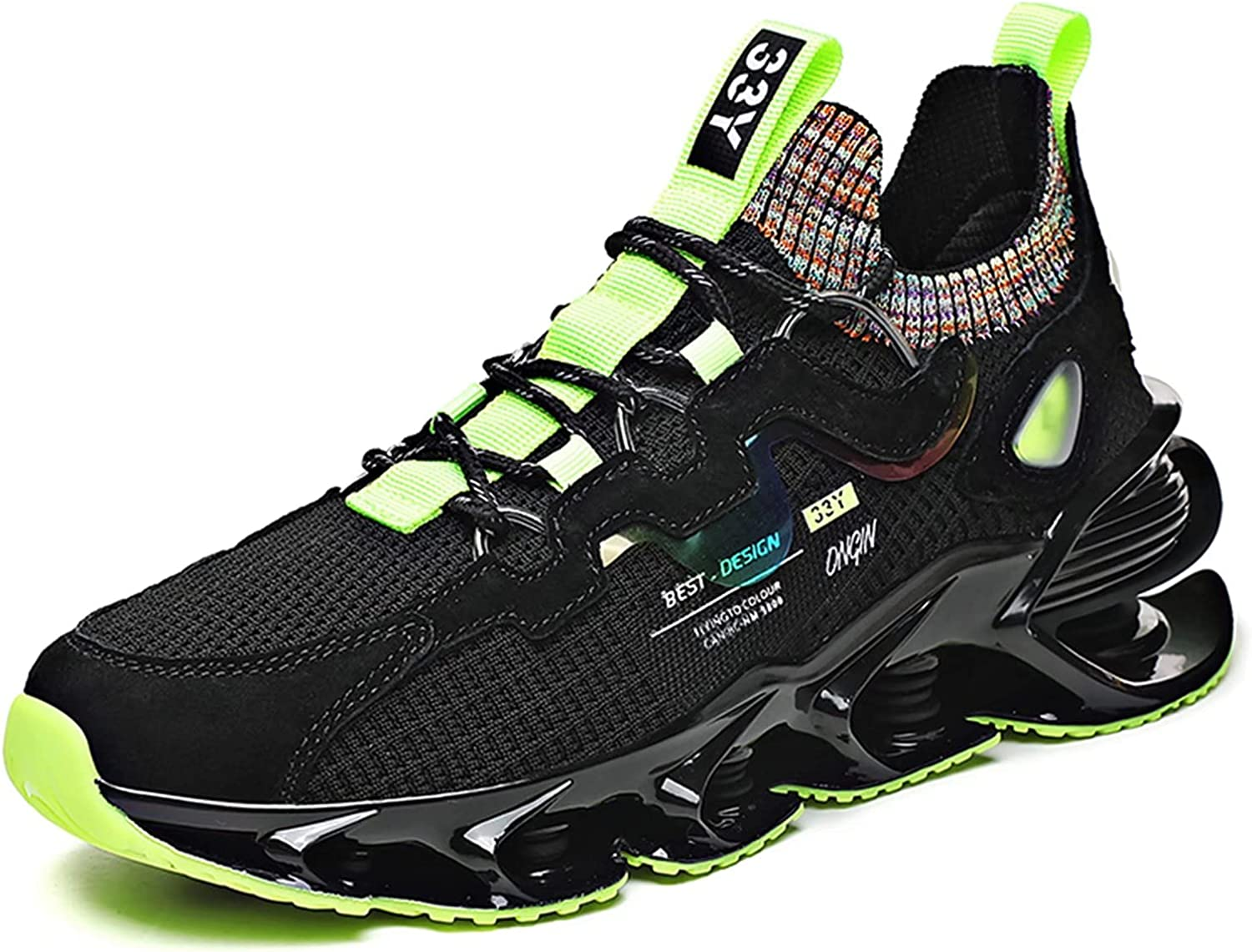Men's Blade Slip on Running Fashion Athletic Walkin latest Limited price Tennis Shoes
