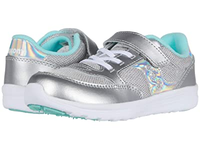 Saucony Kids Originals Jazz Lite (Toddler/Little Kid) (Silver Metallic) Girls Shoes