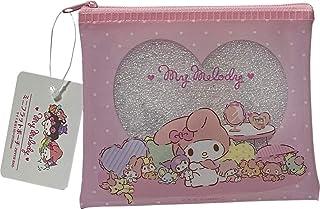 جراب Sanrio My Melody & Kuromi من إكسسوارات مستحضرات التجميل حقيبة صغيرة من الفينيل بسحاب 14 × 12 سم (الغرفة)