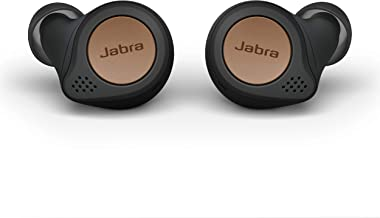Jabra Elite Active 75t Earbuds – Alexa Enabled, True Wireless Earbuds with Charging Case, Copper Black