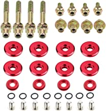 Dewhel B-SERIES B16 B17 B18 VTEC LOW-PROFILE SLIM VALVE COVER HARDWARE WASHER BOLT Color Red