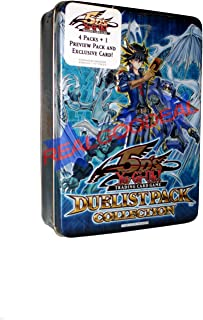 Yugioh 5D's 2009 Duelist Pack Collection Tin w/Blackwing - Shura the Blue Fla...