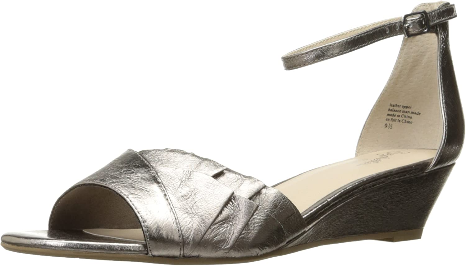 Seychelles Womens Coffee Wedge Sandal