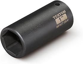 TEKTON 47794 1/2-Inch Drive by 1-Inch Deep Impact Socket, Cr-V, 6-Point