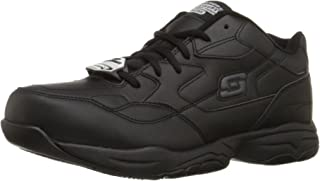 Skechers for Work Men's 77032 Felton Resistant Relaxed Fit Work Shoe