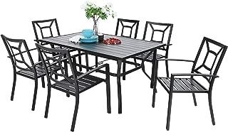 adair outdoor 7 piece dining set