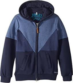 Zip Through Hooded Sweatshirt (Toddler/Little Kids/Big Kids)