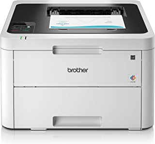 Brother HL-L3230CDW - Impresora láser color (WiFi, LED, USB 2.0, 256 MB, 800 MHz, 18 ppm, 390 W) blanco, A4