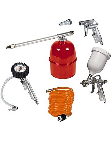BIlinli Kit de Herramientas de Limpieza de soplador de Pistola de soplado de Pistola de soplado de Aire comprimido de 5 Piezas