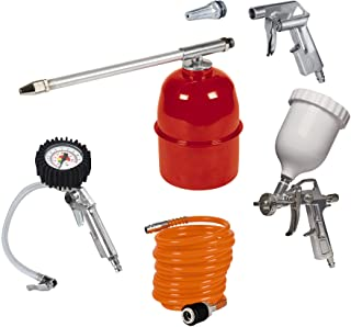 Einhell Kit de accesorios para compresor de aire, 5 unidades