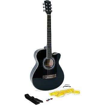 Martin Smith W-401E-BK Guitarra acústica eléctrica - color negro ...