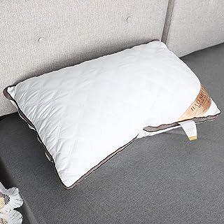 【?????? ?? ???????】 Almohada de terciopelo de plumas, Almohada para dormir Almohada para el cuidado del cuello Almohada para hotel Dormitorio para cama familiar Dormir en casa Hotel