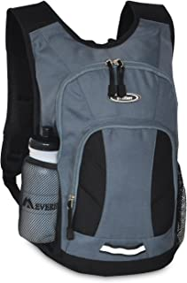 Everest Mini Hiking Pack, Dark Gray/Black