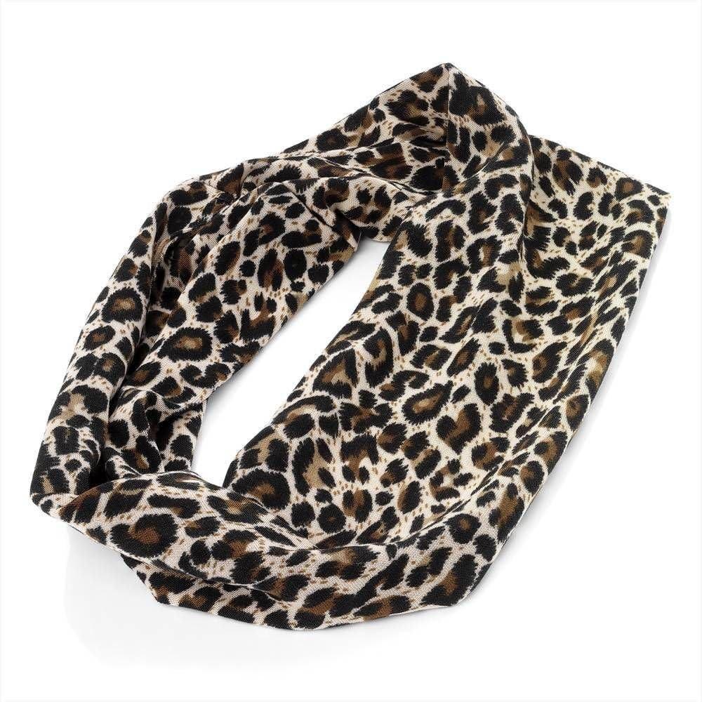 big stretchy headband animal print headband ABBY BOW AP9 baby headbands oversized bow headband Leopard Print Bow headband