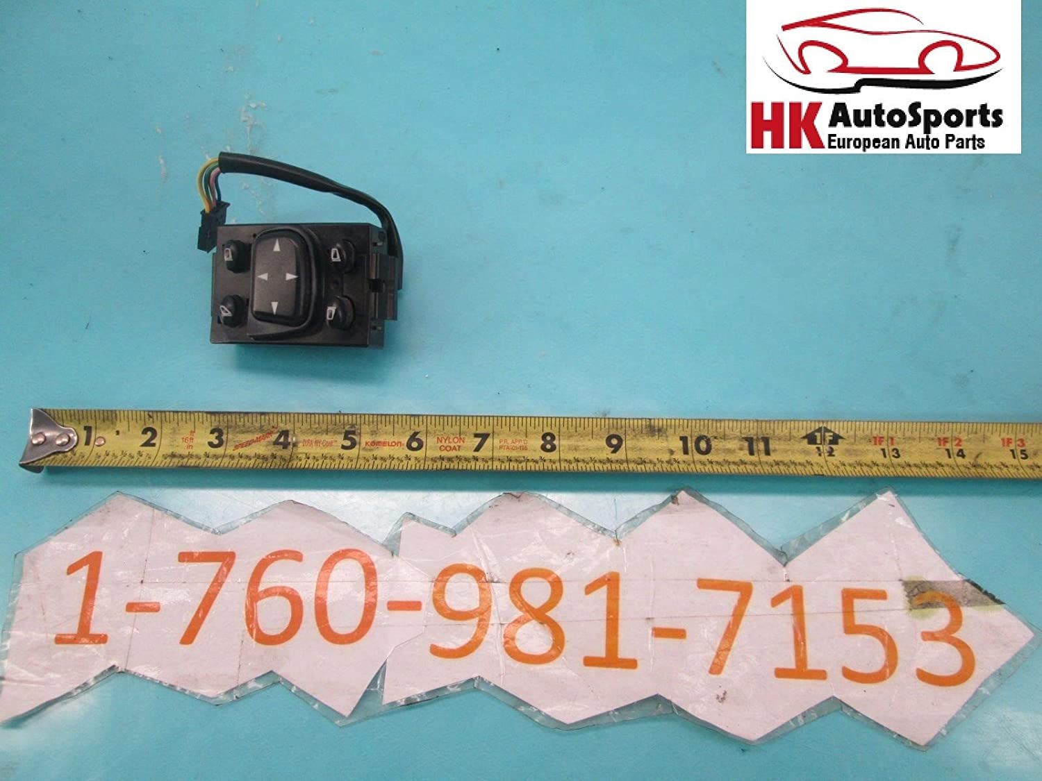 New life AUTO PARTS LAB Door Mirror Control Switch with Compatible OEM Me Cheap sale