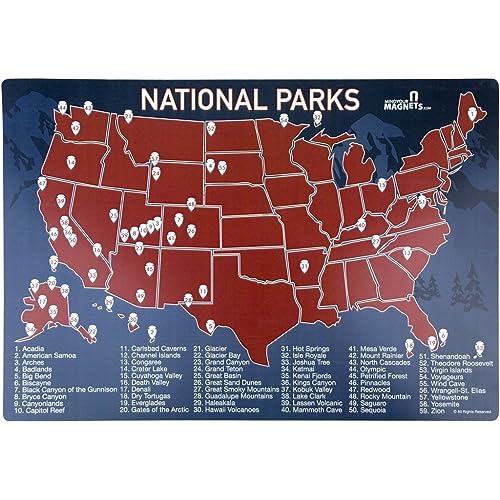 US National Parks Map: Amazon.com