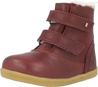 Bobux i-Walk Aspen Plum Leather Infant Ankle Boots