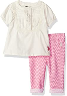 Baby Girls' Fashion Top and Pant Set