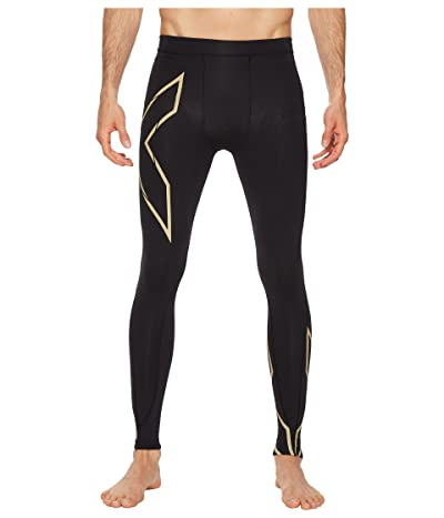 2XU MCS Run Compression Tights (Black/Gold) Men