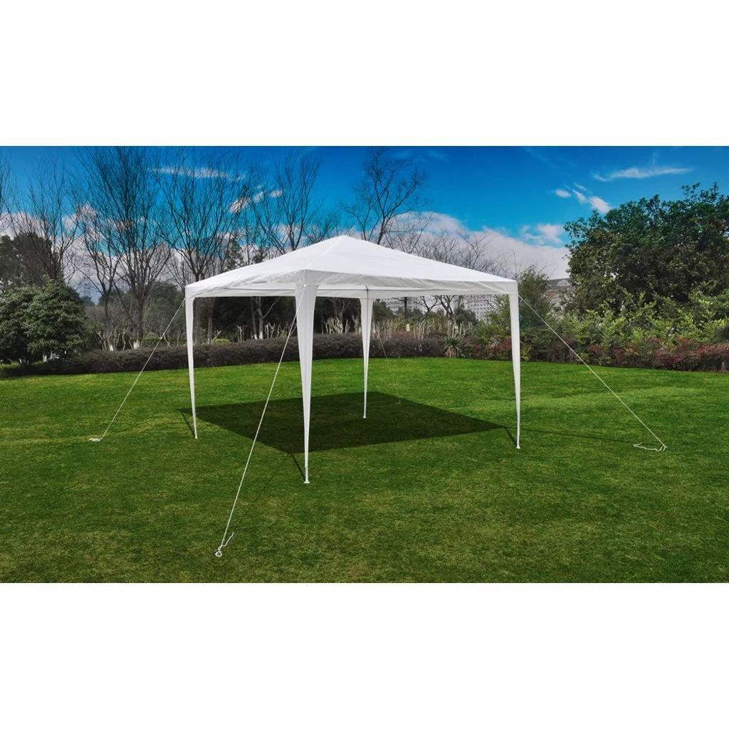 WEILANDEAL Pabellon Gazebo Jardin Piramide-Techo 3 x 3 M Carpas Impermeables exteriorAltura de Alero/Desplazamiento (Donde una Persona Puede Estar de pie): 2 m: Amazon.es: Jardín