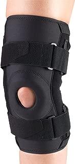 OTC Knee Stabilizer R.O.M. Orthotex Hinged Bars, Black, Medium