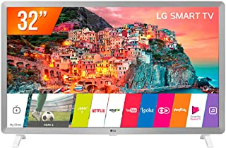 "Smart TV LED 32"", LG, 32LK610BPSA, HD HDR Ativo Upscaler HD webOS 4.0 Virtual Surround Plus, Branco"