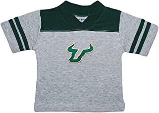 Creative Knitwear University of South Florida Bulls Horns Baby Sport Shirt