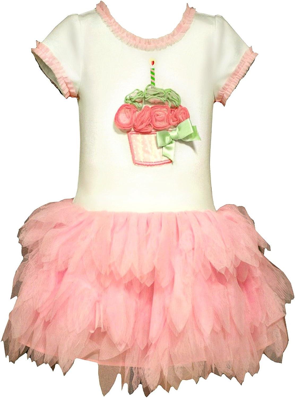 Bonnie Jean Little Girls First Birthday Cupcake Dress