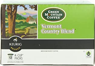 Green Mountain Coffee K-Cup, Vermont Country, 12 Count (Pack of 1)