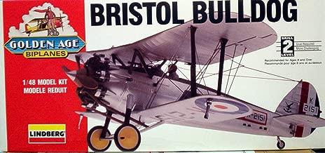 Bristol Bulldog Golden Age Biplane Scale 1:48