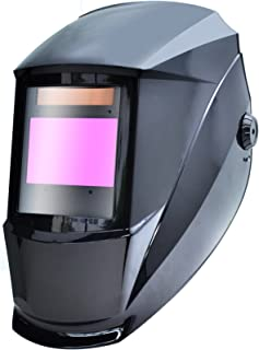 Antra AH7-X80-0001 Digital Controlled Solar Powered Auto Darkening Welding Helmet Wide..