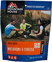 Mountain House Creamy Macaroni & Cheese   Freze Dried Backpacking & Camping Food