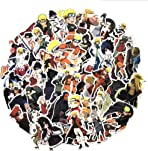 150PCS Naruto Anime Stickers,Waterproof Naruto Stickers for Laptop Skateboard Pad Bicycle Phone Car,Decal Cartoon Sticker,Naruto Peeker Sticker