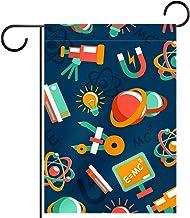 Tuin Vlag Gazon Decoraties Yard Decor Outdoor Boerderij Decor Bunting vlaggen educaitonale cartoon fysica element Dubbelzi...