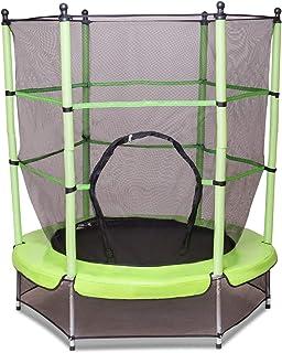 comprar comparacion COSTWAY Cama Elástica de Jardín Infantil Trampolín para niños con Red de Seguridad Ø 140cm