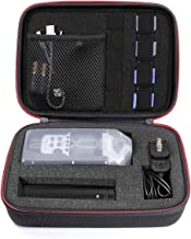Oriolus Portable Travel Case for Zoom Q8 H6 H4N H5 H2N H1 F8 Portable Video Recorder Multi-Track Field Recorder (Black)