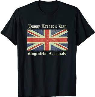 4th of july American Patriotic Shirt Happy Treason Day
